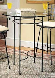 small round pub table bar with stools