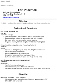 Free Accounting Student Resume Sample Doc 35kb 1 Page S