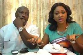 Image result for images of mercy aigbe and husband