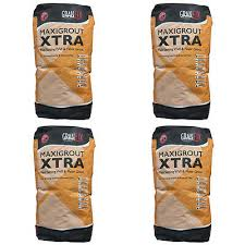 4 Bags Of Granfix Maxigrout Xtra Wall Floor Grout 9
