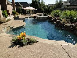 Backyard Landscaping Ideas-Swimming Pool Design [ Read More at  www.homesthetics.net
