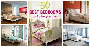 Bedroom white furniture Stylish Homebnc 50 Best Bedrooms With White Furniture For 2019