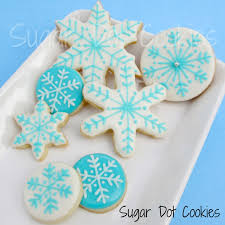 decorated round christmas sugar cookies. Plain Decorated Super Simple Winter Sugar Cookies On Decorated Round Christmas O