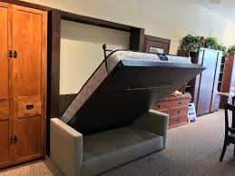 queen size murphy beds. A Few More Steps To The Left, You\u0027ll See A Beautiful Mission Style Home  Office That Includes Queen Murphy Bed, An 84\ Size Beds