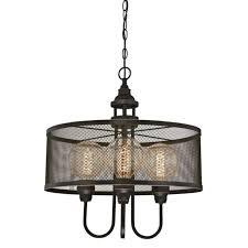 westinghouse 6332900 walter four light indoor chandelier oil rubbed bronze