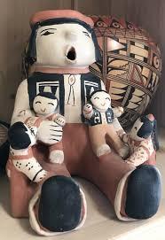 Ada Suina StoryTeller Cochiti Pottery — Tribes 131