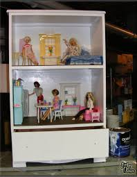 barbie wood furniture. Design A Barbie Doll House Using Recycled Wood Dresser Furniture