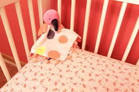 flamingo nursery set bedding