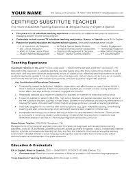 Teaching Cover Letter Examples No Experience Eddubois Com