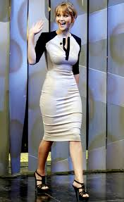 Jennifer Lawrence in Victoria Beckham Ladies Pinterest