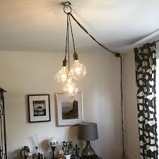 plug in industrial lighting. Unique PLUG Chandelier For Home Modern Hanging Pendant Lamp Edison Industrial Lighting Hardwired Ceiling Fixture Plug In H