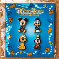 Disney Chuột Mickey Huy Hiệu Vịt Donald Goofy Bluto Quần Áo Đồ Dùng Trang  Trí Acrylic Thổ Cẩm Chân Dành Cho Ba Lô Nhựa Pin Trên|Thẻ