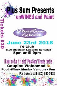 unwine and paint