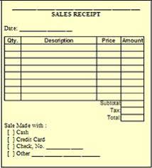 sale receipt template free this bookkeeping form makes it easy to keep track of receipts and