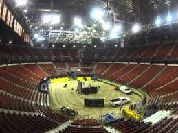 Transformation Of The Thomas Mack Into A Rodeo Arena