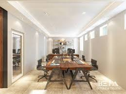 rustic modern office. [Modernkitchen] Modernkitchen TAKARI RENT CAR OFFICE ROOM : Working Area CONCEPT: Rustic Modern Office