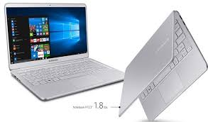 samsung notebook 9 pro. the laptop features a 360-degree touchscreen display with amazing viewing angles and can be rotated in both notebook tablet mode. samsung 9 pro o