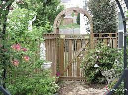 creative garden gate ideas for a
