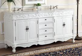 double sink antique white beckham bathroom vanity cf w