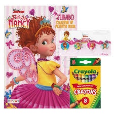 (that's french for happy birthday nancy!) watch fancy nancy on disney junior and in the disneynow. Disney Junior Fancy Nancy Coloring And Activity Book 4 Rings 8 Crayons Amazon Com Books