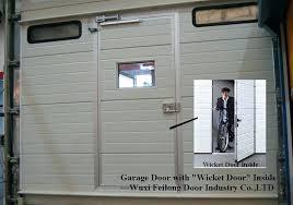 Garage Door Inside Sliding Screen Door For Garage This Inside View