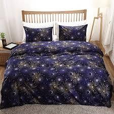 teen duvet cover. Stars Bedding Red Galaxy Duvet Cover Set Dark Blue Moon Printed Kids Teen Twin (66\ E