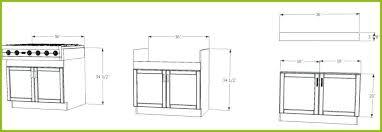 kitchen base cabinet height average kitchen base cabinet height