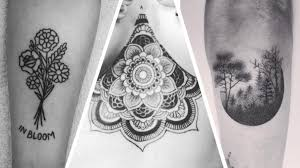 11 Amazing Hand Poked Tattoos That Youll Want Right Now Grazia