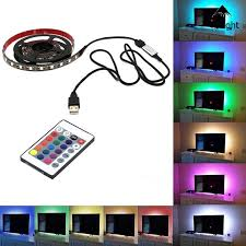 5M 150 <b>LED 5050 USB RGB</b> Multicolour Strip Tape Light 24 Keys ...