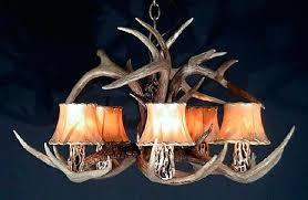 antler chandelier kit deer
