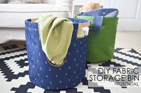 Decorative Fabric Storage Boxes DIY Fabric Storage Bins Project Nursery 78