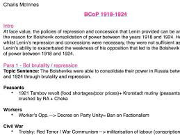 charis mcinnes s shop teaching resources tes history a level russian bolshevik consolidation of power essay plan