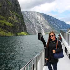 cruising through the norwegian fjords in flam norway
