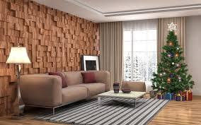 Xmas Living Room Wallpaper Christmas Living Room 3d Graphics Christmas Tree Gifts