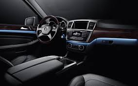 ambient interior lighting. Mercedes-Benz ML350 With Available, Multicolor Ambient Lighting (shown In Polar) Interior
