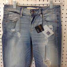 Hidden Jeans Size Chart Nwt Hidden Jeans Amelia Skinny Size 26 Nwt