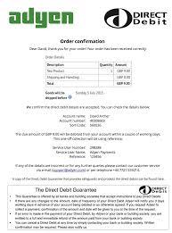 Bacs Direct Debit
