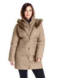 plus size long puffer coat winter coats with hood