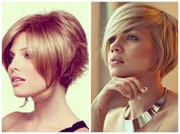 Short Inverted Bob Haircut Hairstyle Fo Women Man