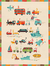 oopsy daisy transportation a to z by irene chan canvas wall art 10 quot  on oopsy daisy transportation wall art with amazon oopsy daisy transportation a to z by irene chan canvas