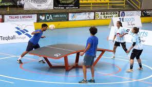 Etapa de apuramento para o mundial de teqball em Santarém