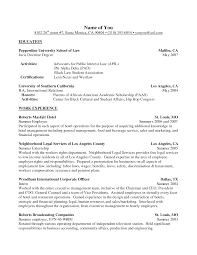 resume interest examples