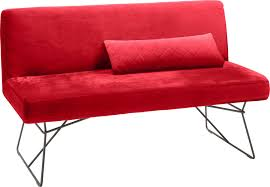 Rot Velvet Einfache Sitzbänke Online Kaufen Möbel