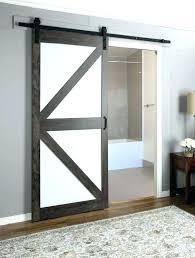 frosted barn door frosted glass pocket door throughout sliding doors design