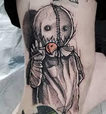 фрихэнд скетч татуировки Mike Riina