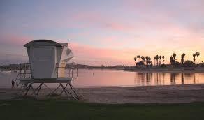 Bonita Cove Park On Mission Bay San Diego Ca California