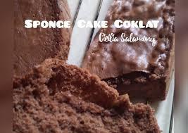 See more ideas about resep cake, cake, cake recipes. Resep Sponge Cake Coklat Bikin Ngiler Kreasi Masakan