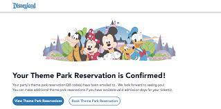 How to make a reservation at Disneyland