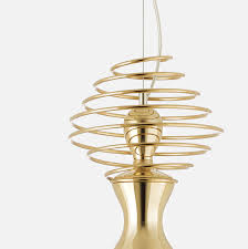 abstract gold plated light fixtures