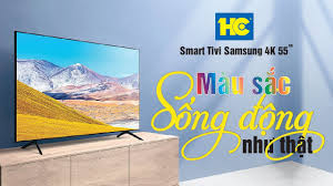 Smart Tivi Samsung 4K 55 inch 55TU8100 giá rẻ, có trả góp